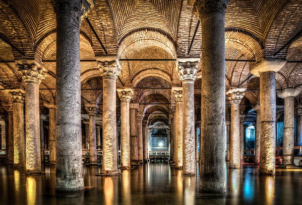 Картинки по запросу базилика цистерна стамбул