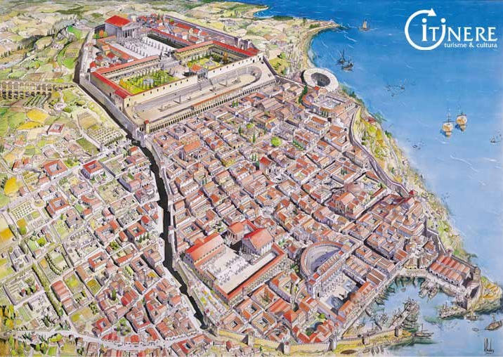 tarragona spain map