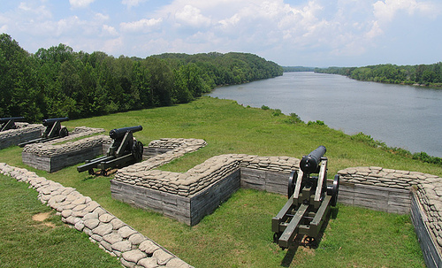 Fort Donelson National Battlefield Ermak Travel Guide - Ft donelson river on us map